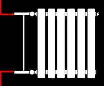 схемы подключения радиаторов