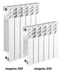 Алюминиевые радиаторы RADIKO